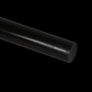 PVC Staf Zwart